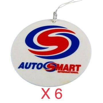 6 x Autosmart air fresheners - Cranberry scent